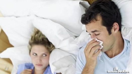 Người bên cạnh dễ nhiễm bệnh cảm lạnh qua đường hô hấp