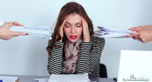Stress là một trong những nguyên nhân gây rối loạn kinh nguyệt