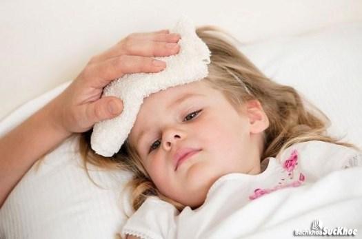Bệnh thường gặp phải ở trẻ em