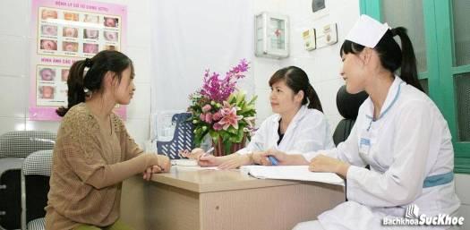 Các bước để khám phụ khoa
