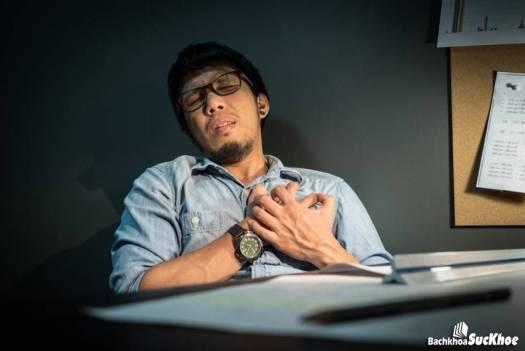 Đau thắt ngực - dấu hiệu bệnh co hẹp động mạch