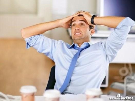 Người thường xuyên bị căng thẳng stress cũng có khả năng bị bệnh yếu sinh lý