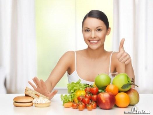 Chế độ ăn uống hợp lý, khoa học