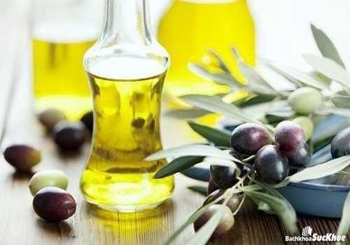 Chữa suy giãn tĩnh mạch bằng dầu oliu