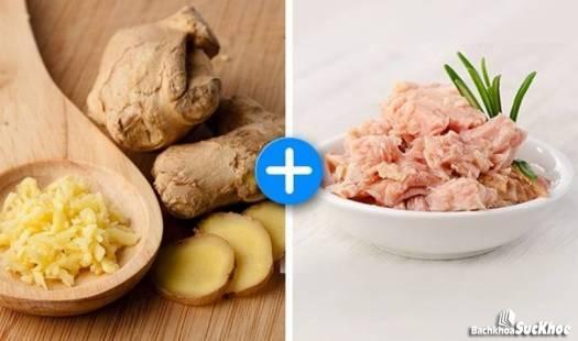 Các loại thực phẩm hàng ngày kết hợp với các loại thảo dược để chữa bệnh teo cơ