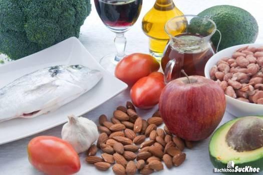 Thực phẩm giảm Cholesterol trong máu
