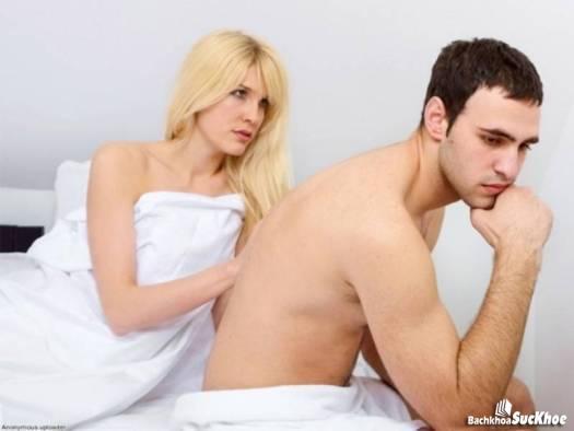Yếu tố tâm lí ảnh hưởng nghiêm trọng đến chứng rối loạn chức năng cương dương